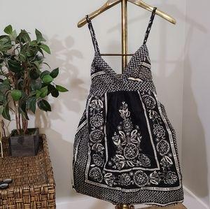 Kimchi & Blue Black and White Summer Dress Strappy